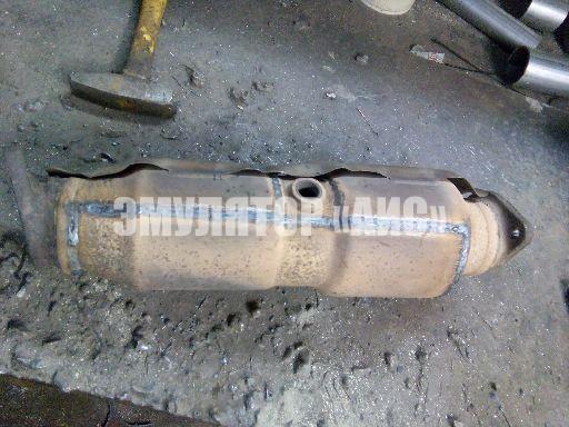 Ремонт катализатора спортейдж 3 Замена масла в КПП мицубиси паджеро спорт